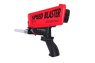 007R |   Speed Blaster ® - Handheld Media Blaster - Red
