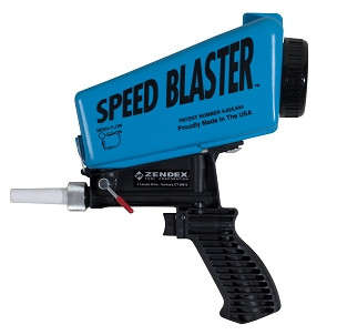 007B |   Speed Blaster ® - Handheld Media Blaster - Blue